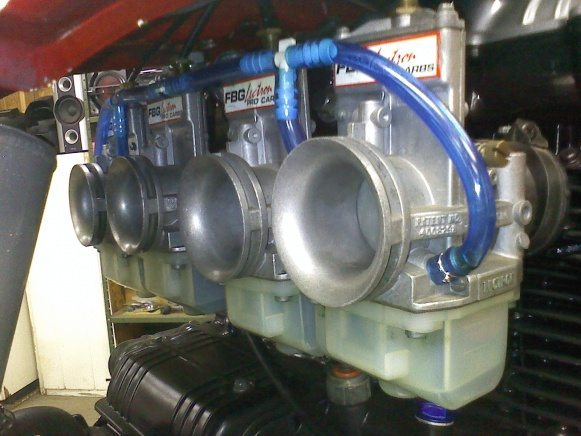 Carburadores especiais de competição usa um método totalmente diferente de regulagem