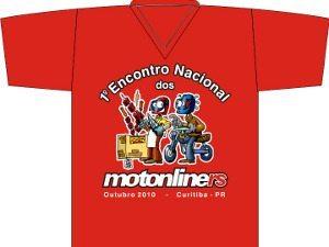 1º Encontro Nacional Motonliners, de 9 a 12 de outubro de 2010.