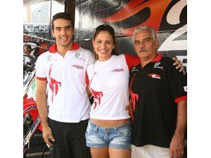 Foto: Irmãos Balbi prontos para a final do Mineiro de SX