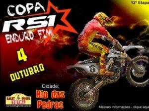 4 de outubro – 12ª etapa da COPA RS1 DE ENDURO FIM