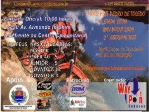 5ª Etapa Way Point em Pedro de Toledo – 4 de outubro