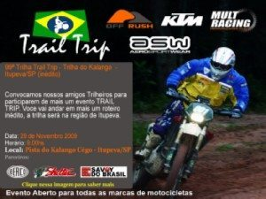 99ª Trilha Trail Trip - Trilha doKalango- Itupeva/SP – 29 de novembro