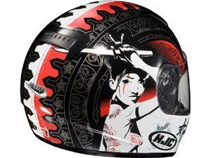 A Montanna esta trazendo para o Brasil a nova coleção de capacetes HJC 2010.
