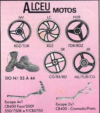 Anúncio publicado em 1989 mostra a roda igual à da Fazer