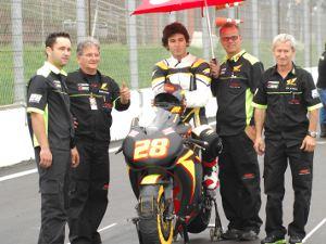 Foto: A Spiga Racing, equipe patrocinada pela Água Mineral Nobre é um dos destaques da motovelocidade nacional