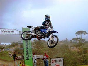 Foto: Junhino venceu a MX2
