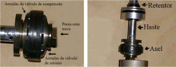Amortecedor traseiro CR250 2003 Remontagem