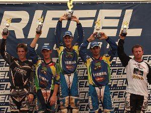 Anderson Cidade conquista a MX1 e a MX2 no Riffel Motocross 2010