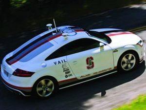 Audi TT autônomo sobe Pikes Peak