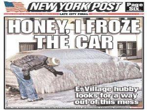Audi vira bloco de gelo