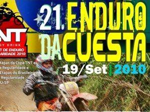 Botucatu sedia etapa dupla da Copa TNT de Enduro de Regularidade