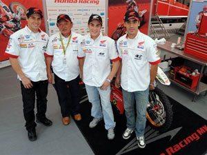 Foto: Team Honda representa o Brasil no Motocross das Nações 2009