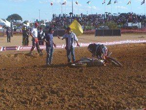 Foto: Queda do Jean força corrida de recuperação - Bitenca