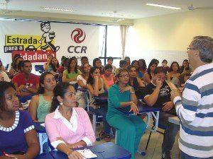 CCR ViaLagos capacita professores em educação para o trânsito