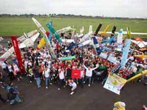 Competição SAE BRASIL AeroDesign  bate recorde com 96 equipes inscritas