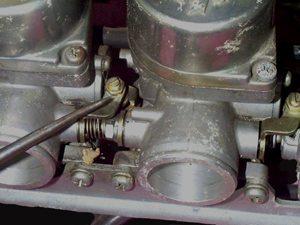 Foto: Ajustes no carburador - Bitenca