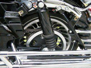 Foto: Transmissão por correia Harley Ultra Classic - Bitenca