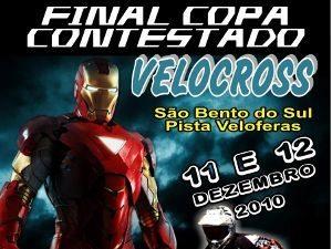 Copa Contestado de Velocross volta a São Bento do Sul para a grande final