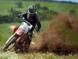 Foto: Vinícius Calafat Ribeiro, 2º  colocado da categoria E2, em ação.