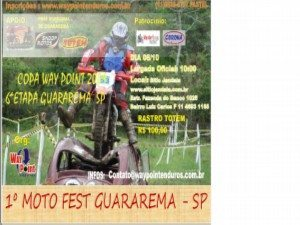 Copa Way Point - 6ª Etapa em Guararema