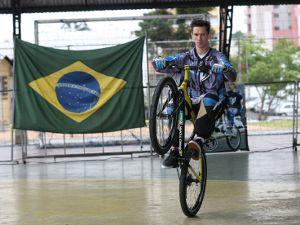 Foto: Márcio Leandro Gay é patrocinado pela Pro Tork