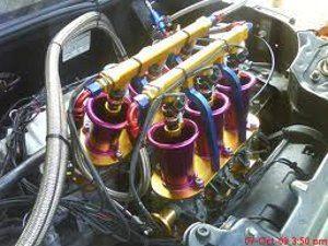 Foto: Injetores F1 - Honda Tech.com