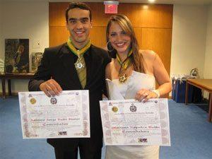 Foto: Ambos foram os primeiros representantes do off-road nacional a receberem a condecoração