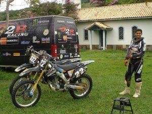 Foto: Lama veio de Sergipe para conhecer a estrutura da 2B e trabalhar com seus companheiros de equipe