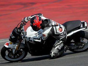 Foto: Rafael Paschoalin, piloto da categoria 600 Hornet (Honda) no Racing Festival