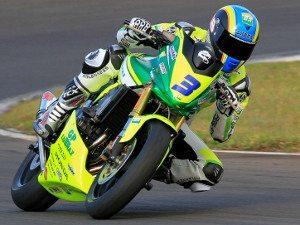 Foto: Diego Faustino, piloto da categoria 600 Hornet (Honda) no Racing Festival