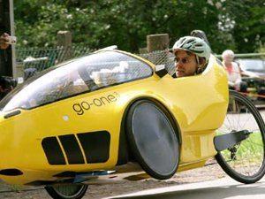 Diminuindo peso de um carro a pedal