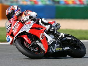 Foto: Mark Aitchison, piloto Honda no Mundial de Supersport