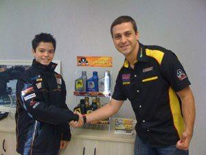Foto: Eric Granado e Rubens Domiciano Júnior, agente de novos negócios da Utility, empresa parceira da Menzelub.