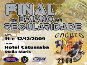 Enduro do Axé 2009 – 11 e 12 de dezembro