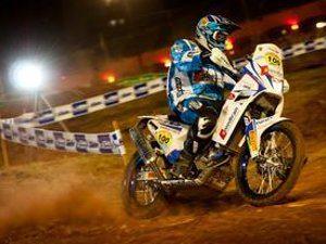Foto: Marcelo Maragni / O pentacampeão Zé Hélio vence a primeira especial nas motos