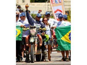 Equipe Petrobras Lubrax comemora 23º Rally Dakar