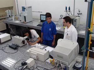 Foto: Laboratório de Combustíveis da FEI