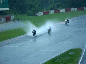 Foto: A chuva obrigou o cancelamento da etapa