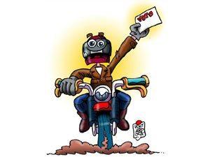 Existe político motociclista? Para quem voto? Moto financiada e roubada, o que faço? Puxão de orelhas!