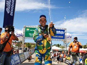 Foto: Zanol foi o melhor brasileiro no evento internacional