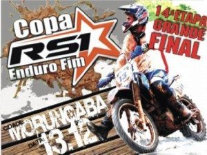 Final da Copa RS 1 de Enduro FIM – 14ª  Etapa – 13 de dezembro