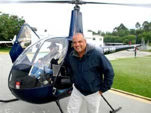 Genilson, o repórter aéreo apaixonado pela motocicleta