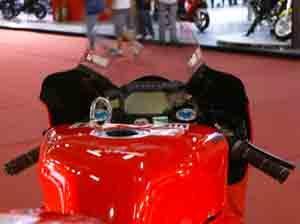 Foto: Cockpit Stoner Ducati - Bitenca