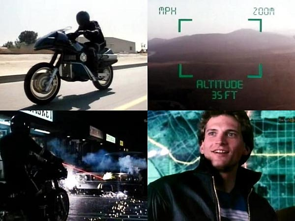 Hollywood e as motocicletas