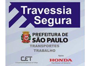 Honda apoia campanha da Prefeitura em prol da segurança dos pedestres
