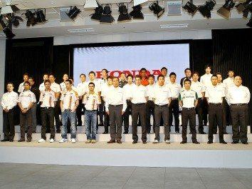 Foto: Honda apresenta programa desportivo em Tóquio