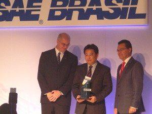 Foto: Júlio Koga,diretor de qualidade foi eleita destaque na categoria Inovação Tecnológica