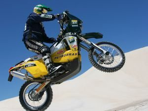 Jean Azevedo retorna para a categoria motos no Rally Dakar 2011
