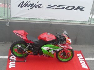 Kawasaki promoveu o Test-Ride Day Ninja 250R
