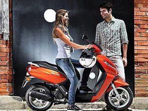 Kisbee, a nova scooter Peugeot